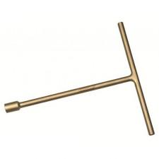 Ключ искробезопасный шестигранный Т-образный с поперечной ручкой