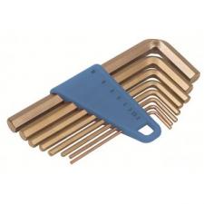 Ключи искробезопасные штифтовые 6-тигранные в наборе