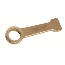 Ключ искробезопасный накидной ударный 12-тигранный