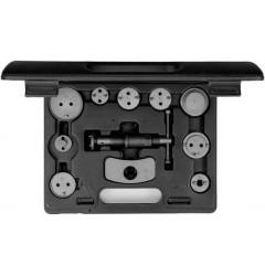 Carolus (Gedore) 0489.2011 Нажимное и поворотное устройство для поршней тормозного цилиндра, 11 предметов