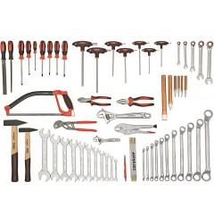 Carolus (Gedore) 2200.060 Специальный набор для металлообработки, 60 предметов