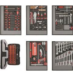 Carolus (Gedore) 2250.5803 Набор инструментов в модулях из пенистого материала, 222 предмета