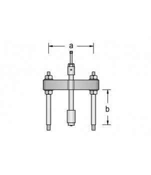 Gedore 1.38/HSP Съемник с разделителем гидравлический