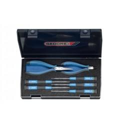 Gedore 1021 Набор отверток для электротехнических работ, 7 предметов