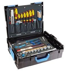 Gedore 1100-01 GEDORE L-BOXX® 136 с набором для механика, 58 предметов