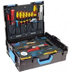 Gedore 1100-02 GEDORE L-BOXX® 136 с набором для электрика, 36 предметов