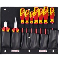 Gedore 1100 W-002 VDE Набор с VDE плоскогубцами и отвертками, 9 предметов