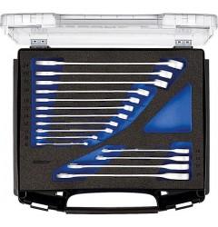 Gedore 1101-7-7 R Набор комбинированных гаечных ключей с трещеткой в i-BOXX® 72, 15 предметов