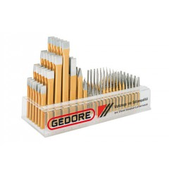 Gedore 1132 Торговые подставки для зубил, 132 штуки