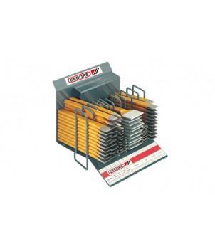 Gedore 1190 Торговые подставки для зубил, 90 штук