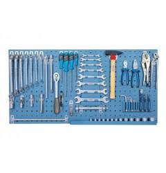 Gedore 1450 L Панель инструментальная, для набора из 65 предметов