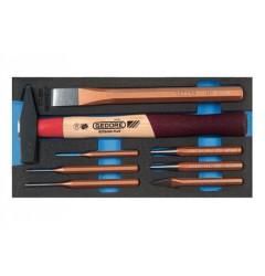 Gedore 1500 CT1-350 Набор инструментов в CT ложементе 1/3