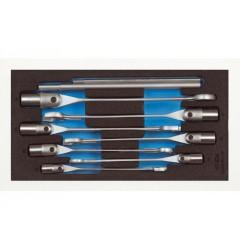 Gedore 1500 CT1-534 Набор ключей гаечных комбинированных шарнирных в CT ложементе 1/3