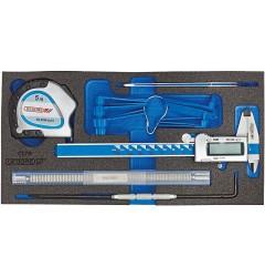 Gedore 1500 CT1-711 Набор измерительного инструмента в CT ложементе 1/3
