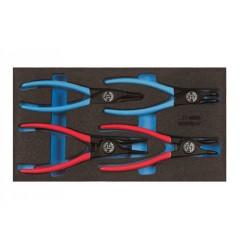 Gedore 1500 CT1-8000 Набор съемников стопорных колец в CT ложементе 1/3