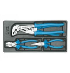 Gedore 1500 ES-145 Набор плоскогубцев в ложементе 1/3
