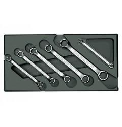 Gedore 1500 ES-2 B Набор ключей гаечных двустороних накидных в ложементе 1/3