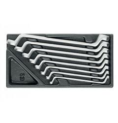 Gedore 1500 ES-2 Набор ключей гаечных двустороних накидных в ложементе 1/3
