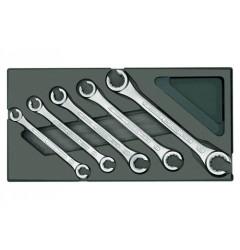 Gedore 1500 ES-400 Набор ключей гаечных c открытым зевом в ложементе 1/3