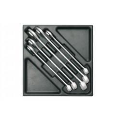 Gedore 1500 ES-7-32 Набор ключей гаечных комбинированых в ложементе 2/3
