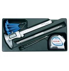 Gedore 1500 ES-711 Набор измерительного инструмента в ложементе 1/3