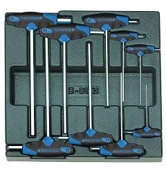 Gedore 1500 ES-DT 2142 Набор шестигранных торцевых ключей в ложементе 2/3