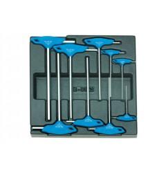 Gedore 1500 ES-DT 42 Набор ключей шестиграных в ложементе 2/3