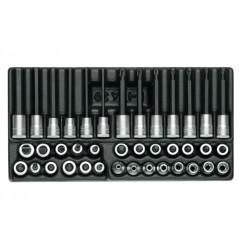 """Gedore 1500 ES-ITX 30 Набор головок с отверточными вставками 3/8"""" в ложементе 1/3"""
