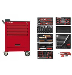 Gedore 2020.140x Tool trolley with assortment