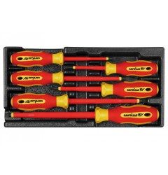 Gedore 2020.723 VDE Screwdriver set in 1/3 module