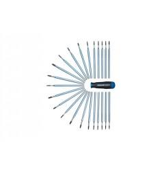"""Gedore 2141 PZ Стержень для динамометрической отвертки 2140, 1/4"""" шестигранный, для винтов с крестообразным шлицем PZ"""