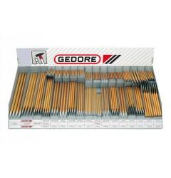 Gedore 3200 Торговые подставки для зубил, 320 штук