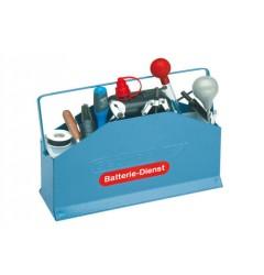 Gedore 610 Инструмент для обслуживания аккумулятора, 10 предметов