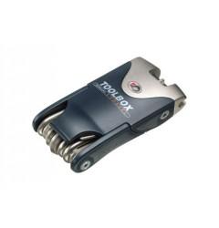Gedore 6166-18 Набор инструмента компактный для велосипедов, 18 функций