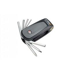 Gedore 6166-20 Набор инструмента компактный для велосипедов, 20 функций