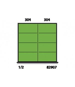 Gedore 82907 - 82915 НАБОР РАЗДЕЛИТЕЛЕЙ ВЫСОТОЙ 50 ММ для шкафов с выдвижными ящиками типа 55