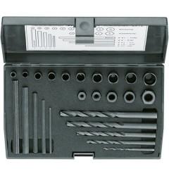 Gedore 8552-025 Набор для выкручивания шпилек, 25 предметов