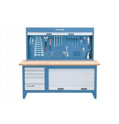 Gedore BR 1500 LH Верстак со шкафом для инструментов 2000 мм. 6618210