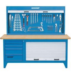 Gedore BR 1500 LH Верстак со шкафом для инструментов