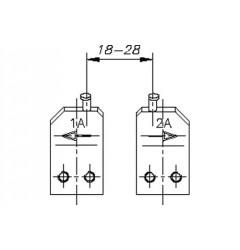 Gedore E-8005 A Губки запасные для внешних стопорных колец (1шт.), 5702300, 2130 руб., 5702300, , Съемники стопорных колец (параллельные действия)