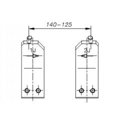 Gedore E-8005 J  Губки запасные для внутренних стопорных колец (1шт.), 5703620, 2446 руб., 5703620, , Съемники стопорных колец (параллельные действия)