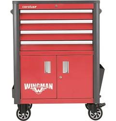 Gedore RED R20200004 Тележка для мастерской WINGMAN с 4 ящиками