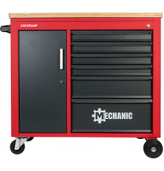 Gedore RED R20400006 Тележка для мастерской MECHANIC PLUS с 6 ящиками