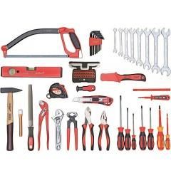 Gedore RED R2100072 Универсальный набор базовых инструментов, 72 предмента