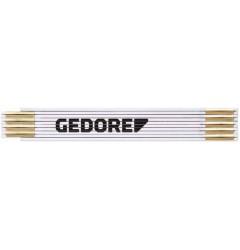 Gedore RED R94500002 Складной деревянный метр, , 497 руб., 3301426, , Измерительный инструмент