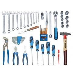 Gedore S 1000 Набор инструментов в чемодане TOURING, 49 предметов