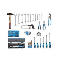 Gedore S 1016 Базовый набор инструментов для чемодана, 87 предметов