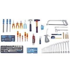 Gedore S 1023 Набор инструментов для механических и электрических работ, 120 предметов