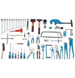 Gedore S 1024 Набор инструментов для сантехника PROFI, 62 предметов