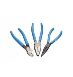 Gedore S 8004 TL Набор губцевого инструмента, 3 предмета, 6752960, 0 руб., 6752960, , Инструмент шарнирно-губцевый в ассортименте